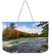 Magnetawan River In Fall Weekender Tote Bag