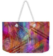 Magnetic Abstraction Weekender Tote Bag