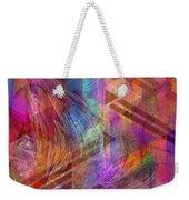 Magnetic Abstraction Weekender Tote Bag