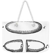 Magnets From De Magnete By W. Gilbert Weekender Tote Bag