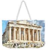 Magnificent Acropolis In Athens Weekender Tote Bag