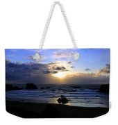 Magnificent Bandon Sunset Weekender Tote Bag