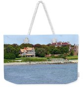 Magnificent Homes Along Cliff Walk Weekender Tote Bag