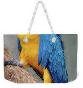 Magnificent Macaw Weekender Tote Bag