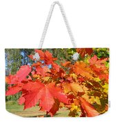 Magnificent Maple Leaves Weekender Tote Bag