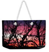 Magnificent Sunset And Trees Weekender Tote Bag
