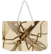 Magnified Mosquito Weekender Tote Bag