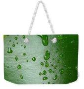 Magnifying Drops Weekender Tote Bag
