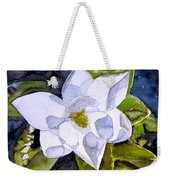 Magnolia 2 Flower Art Weekender Tote Bag