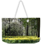 Magnolia And Daffodils Weekender Tote Bag