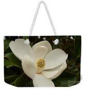 Southern Magnolia Bloom Weekender Tote Bag