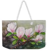 Magnolia Blossom - Painting Weekender Tote Bag