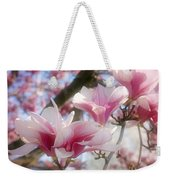 Magnolia Blossoms Weekender Tote Bag