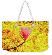 Magnolia Flower Weekender Tote Bag