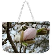Magnolia Flower Pink White 19 Magnolia Tree Spring Art Weekender Tote Bag