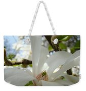 Magnolia Flowers White Magnolia Tree Flower Art Spring Baslee Troutman Weekender Tote Bag