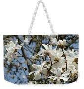 Magnolia Flowers White Magnolia Tree Flowers Art Prints Weekender Tote Bag