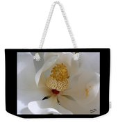 Magnolia Happiness Weekender Tote Bag