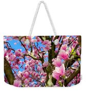 Magnolia Tree Beauty #3 Weekender Tote Bag