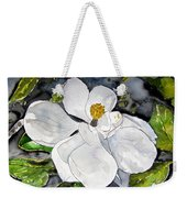 Magnolia Tree Flower Weekender Tote Bag