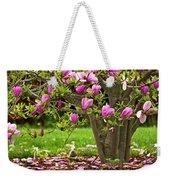 Magnolia Tree Weekender Tote Bag