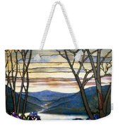 Magnolias And Irises Weekender Tote Bag