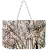 Magnolias In Back Bay Weekender Tote Bag
