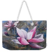 Magnolias In Shadow Weekender Tote Bag
