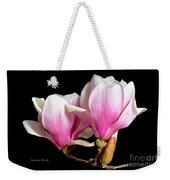 Magnolias In Spring Bloom Weekender Tote Bag