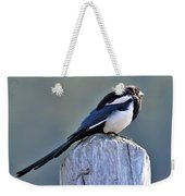 Magpie In The Sun Weekender Tote Bag
