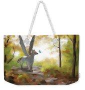 Mahli Weekender Tote Bag by Brandy Woods