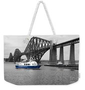 Maid Of The Forth In Blue. Weekender Tote Bag