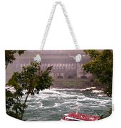 Maid Of The Mist Canadian Boat Weekender Tote Bag