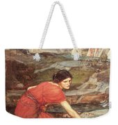 Maidens Picking Flowers By The Stream Weekender Tote Bag