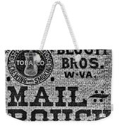 Mail Pouch Days Weekender Tote Bag