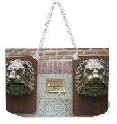 Mailboxes In Toledo Spain Weekender Tote Bag