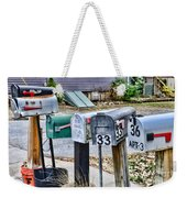 Mailboxes Weekender Tote Bag
