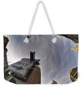 Main And Genesee St Downtown Buffalo Weekender Tote Bag