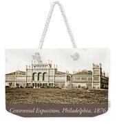 Main Building, Centennial Exposition, 1876, Philadelphia Weekender Tote Bag