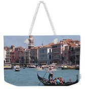 Main Canal Venice Italy Weekender Tote Bag