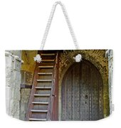 Main Entrance To St Mary's Church At Brading Weekender Tote Bag