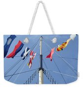 Main Mast Of Ss Great Britain At Bristol England Weekender Tote Bag