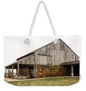 Main Part Of Amana Farmer's Market Barn Amana Ia Weekender Tote Bag