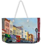 Main Street Nayck  Ny  Weekender Tote Bag