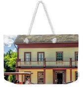 Main Street Of A Bygone Era At Old World Wisconsin Weekender Tote Bag
