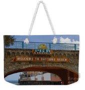 Main Street Pier And Boardwalk Weekender Tote Bag by David Lee Thompson