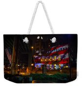 Main Street Station At Night Weekender Tote Bag