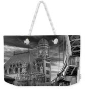 Main Street Station Nw B W Weekender Tote Bag by Jemmy Archer