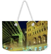 Main Street Station-vertical Weekender Tote Bag