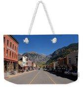 Main Street Telluride Weekender Tote Bag